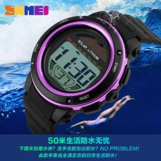 Cina Baru Tahun Diskon Besar Pria Tenaga Surya Digital Jam Tangan Pria Olahraga Luar Ruangan Jam Tangan 1096 Terbaik Merek Militer Tahan Air Jam Tangan siap Stok