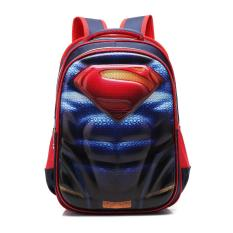 Chloe's Clozette Tas Sekolah Anak 3D Ransel Backpack Superhero Superman