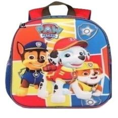 Chloe's Clozette Tas Sekolah Anak Ransel Backpack Paw Patrol 3D
