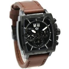 Christ Verra C70116G- Jam Tangan Pria Leather Strap a1db21de0d