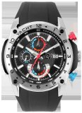 Spesifikasi Christ Verra Sport Chronograph Yatch Gents Watch Cv C 84266G 36 Hitam