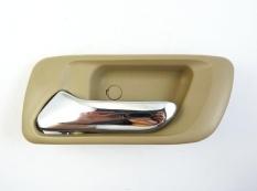 Chrome Beige Belakang Kiri LH Interior Dalam Handle Pintu untuk Honda Accord Baru-Internasional