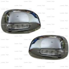 Chrome - Toyota Innova Cover Spion Sein Sign LED Pelindung Kaca Mobil