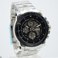 Chronoforce 5291M Jam Tangan Pria   Cowok Stainless Steel Hitam 3c7402b999