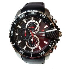Promo Chronoforce Jam Tangan Kasual Pria Leather Strap Cr 5260 Lss