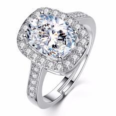 Cincin Berlian Lapis Emas Perak (Perhiasan, Kalung, Gelang)