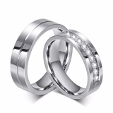 Ulasan Tentang Bisa Bayar Di Tempat Cincin Couple Cincin Kawin Cincin Tunangan Titanium Original Cc035