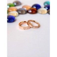 Jual Cincin Couple Cincin Nikah Cincin Tunangan 063 Branded Murah