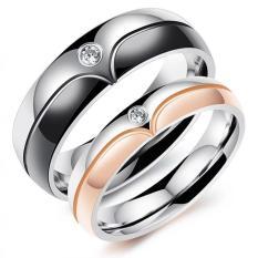 Promo Cincin Couple Cincin Pasangan Cincin Nikah Titanium 100 Akhir Tahun