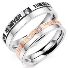 cincin couple / cincin pasangan / cincin nikah titanium 103