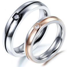 cincin couple / cincin pasangan / cincin nikah titanium 90
