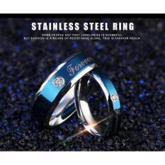 cincin couple / cincin tunangan / cincin nikah titanium anti karat dan hitam - 06