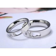 cincin couple / cincin tunangan / cincin nikah titanium anti karat dan hitam - 30