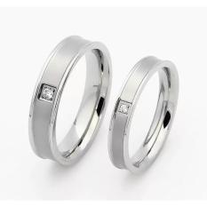 Toko Cincin Couple Cincin Tunangan Cincin Pasangan Cc099 Titanium Di North Sumatra