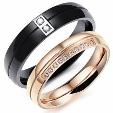cincin couple original titanium 64