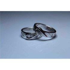 Cincin couple palladium 95%