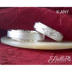 Cincin Couple Perak Tunangan atau Nikah K-ANY Silver Exlusive