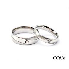 Spek Cincin Couple Titanium Kado Valentine 016 3 North Sumatra