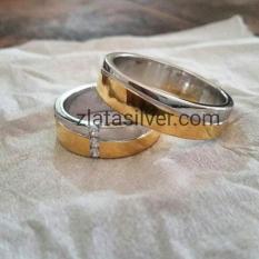Cincin Kawin- Cincin Tunangan- Cincin Couple Vevay Kilap Murah