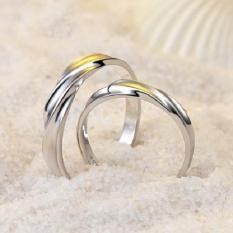 cincin kawin palladium cincin nikah cincin tunangan palladium JQ.06