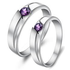 cincin kawin palladium cincin nikah cincin tunangan palladium JQ.09