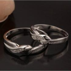 cincin kawin palladium, cincin nikah,cincin couple,cincin tunangan palladium JQ.02