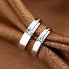 Cincin Kawin Tunangan Couple Perak Murah T171106