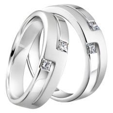 cincin pasangan palladium 75% [ silver ]-0874