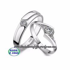 Cincin Perkawinan Palladium, Cincin Pernikahan, Cincin Couple No 1060