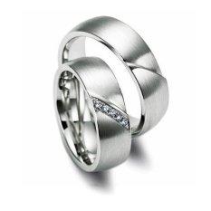 Cincin Pernikahan - Palladium 801 Spesial 18Karat - USA Diamond - Garansi 1 Tahun