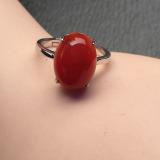 Tips Beli Cincin Raja 18 K Alami Merah Batu Akik Lembab Cincin