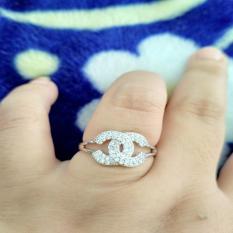 cincin silver chanelll xuping cantik