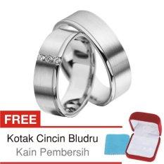 Perbandingan Harga Cincin Tunangan Couple Perak Lapis Rhodium Doff D 39B Silver Exclusive Cincin Tunangan Di Di Yogyakarta