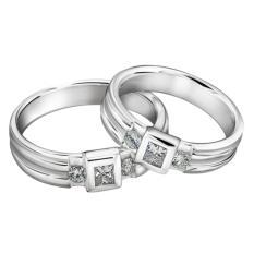cincin tunangan palladium 55% [Silver] - 0871