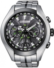 Citizen Eco Drive Satellite Wave Air Cc1054 56E Jam Tangan Pria Silver Di North Sumatra