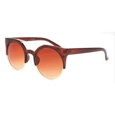 Classic Cateye Half Frame Sunglasses For Women Outdoor High QualitySun Glasses