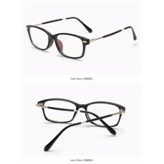 Beli Fashion Klasik Pria Wanita Kacamata 3622 W Bingkai Hitam Intl Pake Kartu Kredit