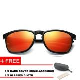 Beli Top Asli Dirancang Polarized Uv400 Mengemudi Persegi Kaca Mata Kacamata Sunglasses For Wanita Dan Pria Murah