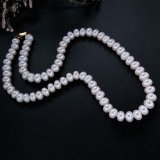 Classic Natural Freshwater Pearl Necklace For Women Best Gift For Mother White Pearl Intl Terbaru
