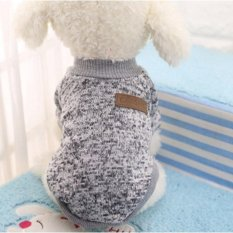 Harga Klasik Ten Warna Tersedia Wol Sweater On Pet Anjing Kitty Pakaian Dua Kaki Poodle Ukuran 2Xl Intl Lengkap