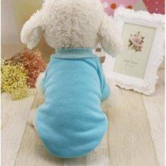Toko Klasik Ten Warna Tersedia Wol Sweater On Pet Anjing Kitty Pakaian Dua Kaki Poodle Ukuran 2Xl Intl Oem Di Indonesia