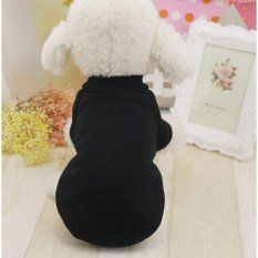 Klasik Ten Warna Tersedia Wol Sweater On Pet Anjing Kitty Pakaian Dua Kaki Poodle Ukuran M Intl Original