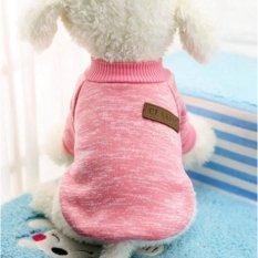 Iklan Klasik Ten Warna Tersedia Wol Sweater On Pet Anjing Kitty Pakaian Dua Kaki Poodle Ukuran S Intl