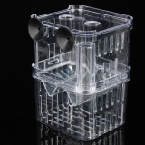 Jual Clear Acrylic Fish Breeding Isolation Aquarium Incubator Box Young Fish Online Di Tiongkok