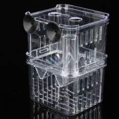 Toko Clear Acrylic Fish Breeding Isolation Aquarium Incubator Box Young Fish Lengkap Di Tiongkok