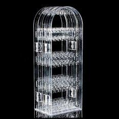 Jual Transparansi Apparent Reason Akrilik Rak Perhiasan Anting Stan Pameran Pemegang Dilipat Internasional Antik
