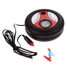 Pompa Ban Multifungsi Portable 3 in 1 Mini Tire Inflator Air Compressor / Car Auto Pump