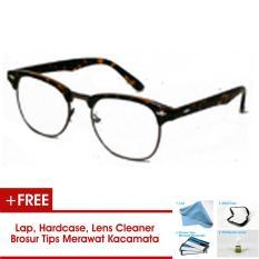 Clubmaster Frame Kacamata Bisa Dipasang Lensa Minus Di Optik Terdekat