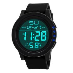 Cocol Max LED Waterproof Digital QUARTZ SKMEI Fashion Watch Militer Sport Pria-Intl