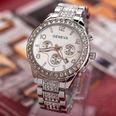 Jual Coconie Geneva Women Fashion Luxury Crystal Quartz Watch Intl Murah Di Tiongkok
